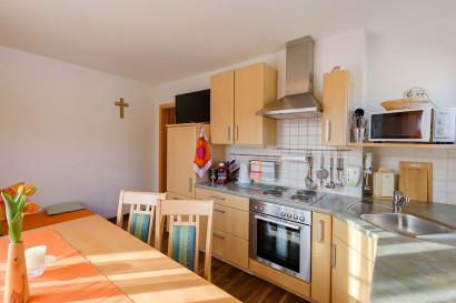 Helle Ferienwohnung in Flachau, Haus Maier - Wohnküche