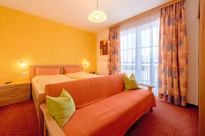 Helle Ferienwohnung in Flachau, Haus Maier - Schlafzimmer