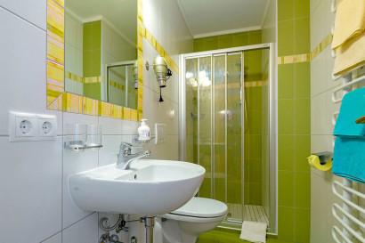 Helle Ferienwohnung in Flachau, Haus Maier - Badezimmer