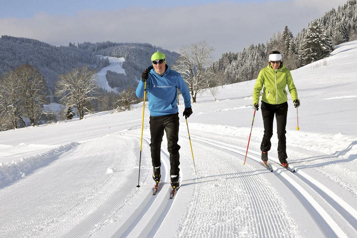 Langlaufen - Winterurlaub & Skiurlaub in Flachau, Salzburger Land, Ski amadé - Ferienwohnung im Haus Maier