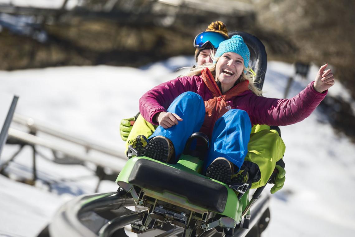Lucky Flitzer, Rodeln - Winterurlaub & Skiurlaub in Flachau, Salzburger Land, Ski amadé - Ferienwohnung im Haus Maier