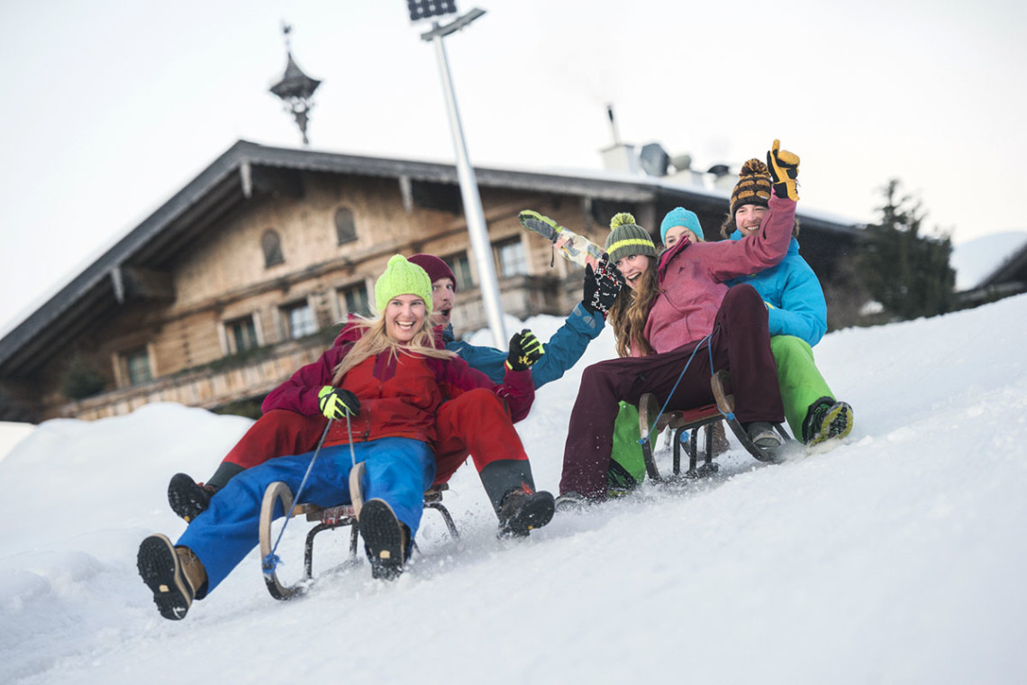 Rodeln - Winterurlaub & Skiurlaub in Flachau, Salzburger Land, Ski amadé - Ferienwohnung im Haus Maier