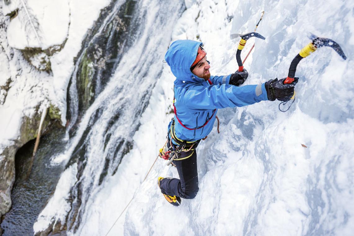 Eisklettern - Winterurlaub & Skiurlaub in Flachau, Salzburger Land, Ski amadé - Ferienwohnung im Haus Maier