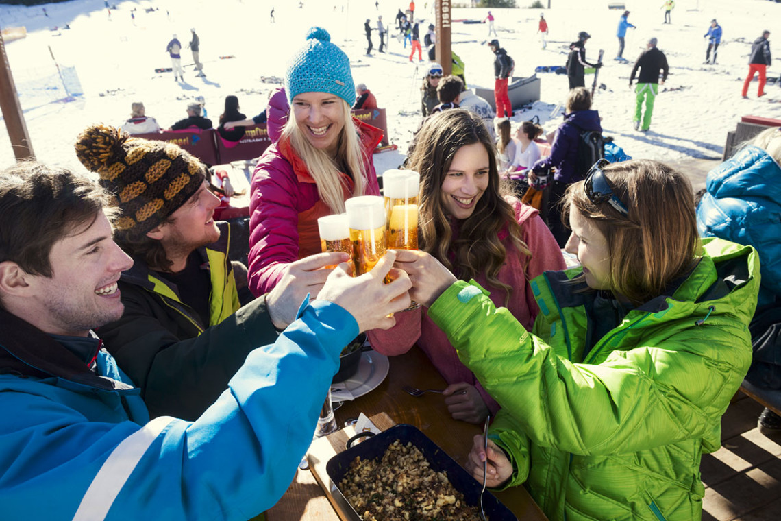 Après Ski in Flachau - Winterurlaub & Skiurlaub in Flachau, Salzburger Land, Ski amadé - Ferienwohnung im Haus Maier