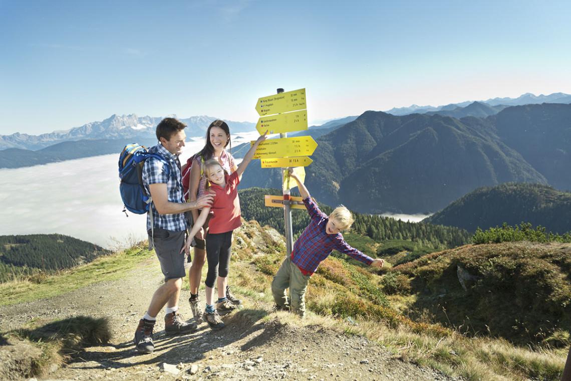 Sommer in der Region, Sommerurlaub in Flachau, Ferienwohnung im Haus Maier, Salzburger Land - Wandern in Flachau