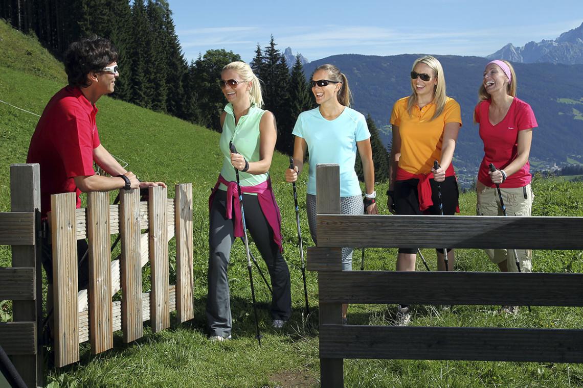 Sommer in der Region, Sommerurlaub in Flachau, Ferienwohnung im Haus Maier, Salzburger Land - Nordic Walken in Flachau