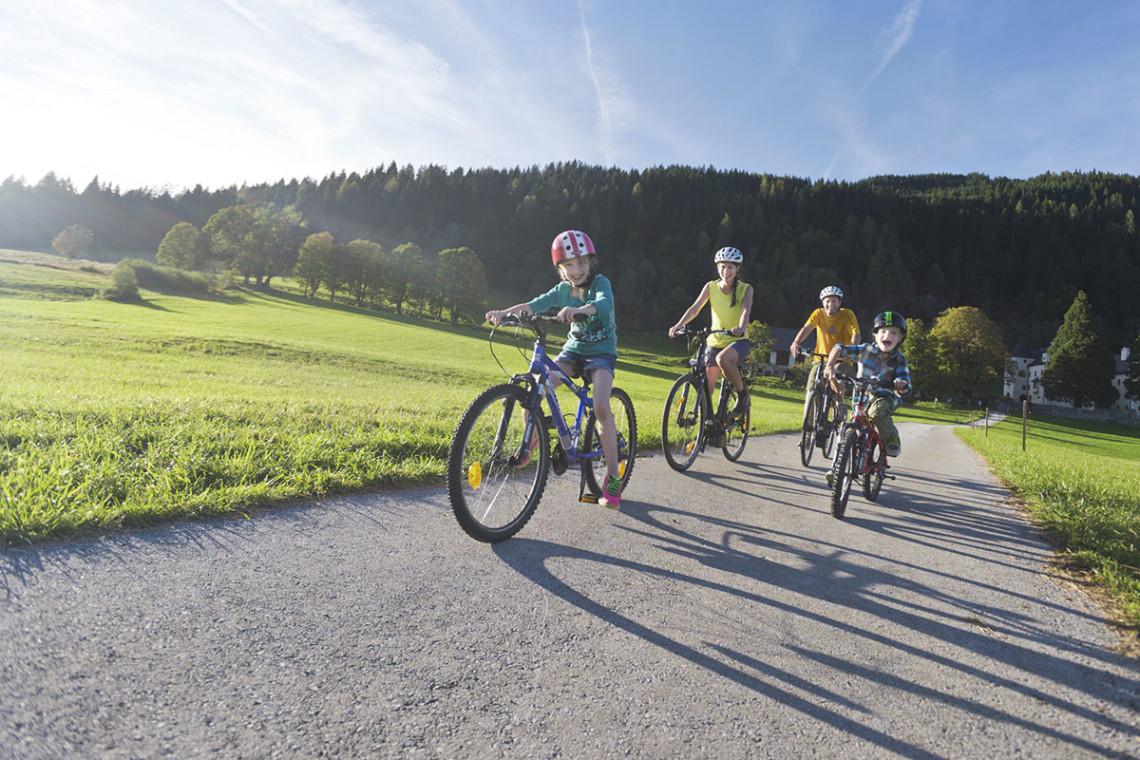 Sommer in der Region, Sommerurlaub in Flachau, Ferienwohnung im Haus Maier, Salzburger Land - Radfahren in Flachau