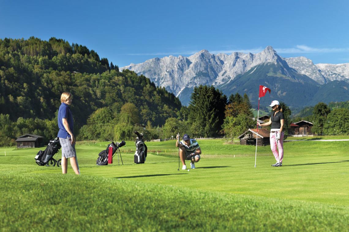 Sommer in der Region, Sommerurlaub in Flachau, Ferienwohnung im Haus Maier, Salzburger Land - Golfen in Flachau