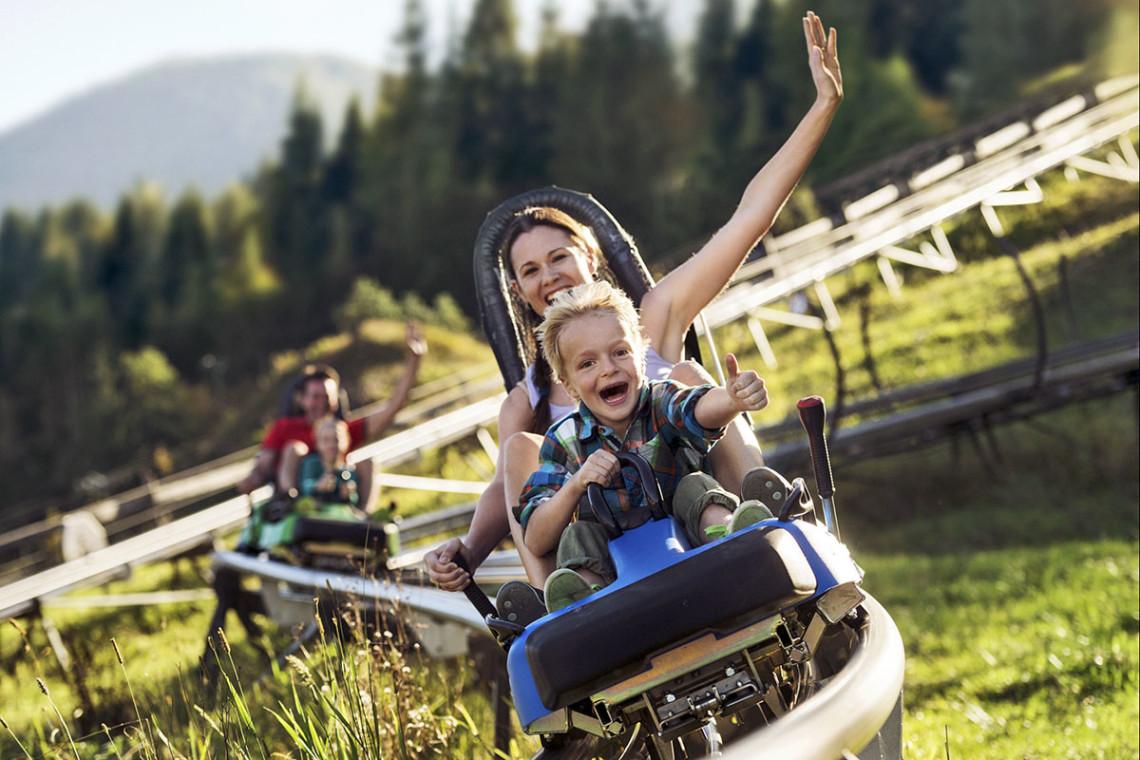 Sommer in der Region, Sommerurlaub in Flachau, Ferienwohnung im Haus Maier, Salzburger Land - Lucky Flitzer in Flachau