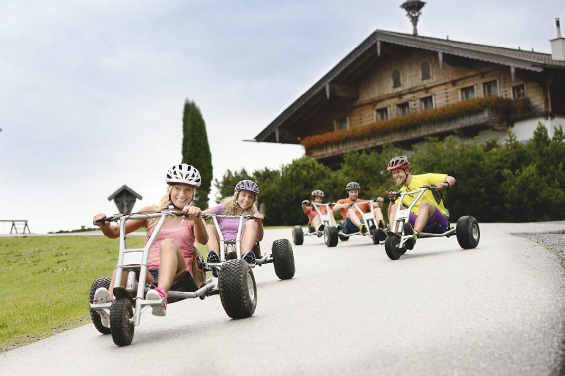 Sommer in der Region, Sommerurlaub in Flachau, Ferienwohnung im Haus Maier, Salzburger Land - Mountainkart fahren in Flachau