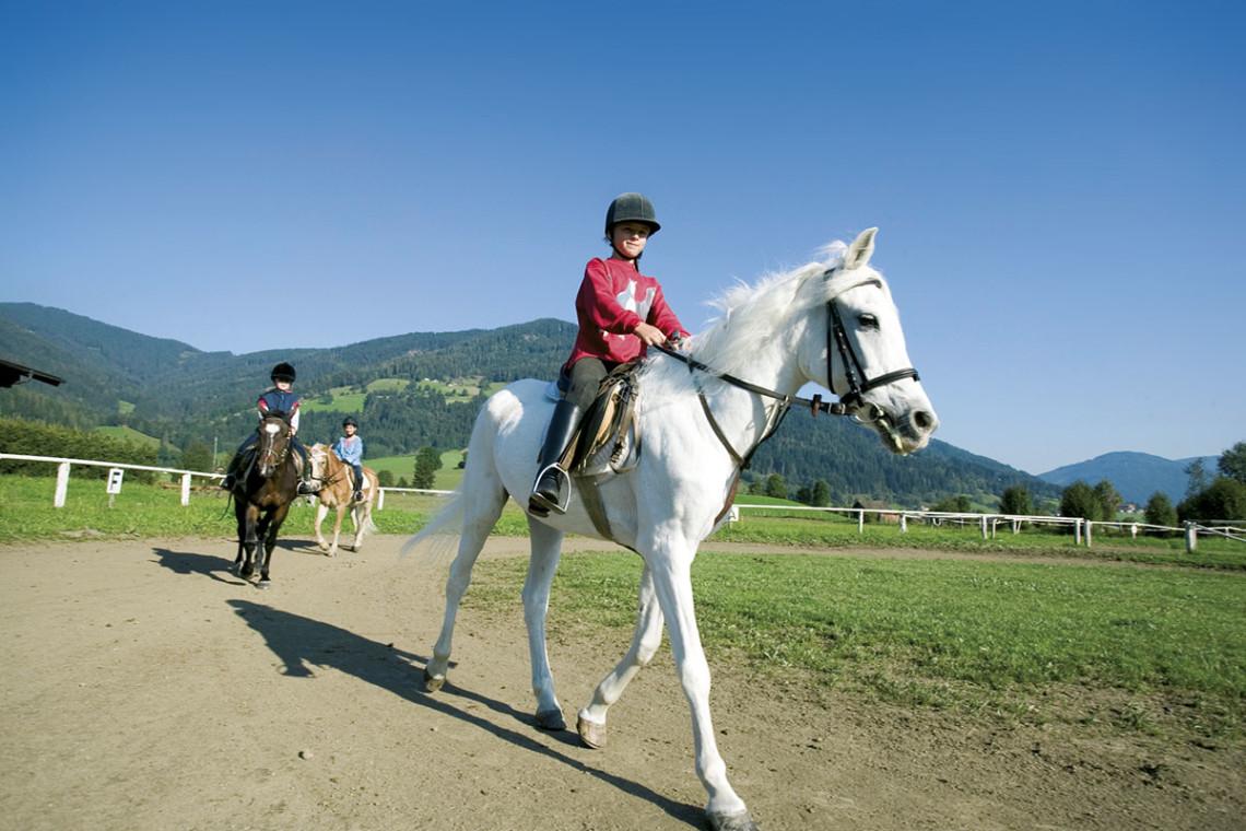 Sommer in der Region, Sommerurlaub in Flachau, Ferienwohnung im Haus Maier, Salzburger Land - Reiten in Flachau